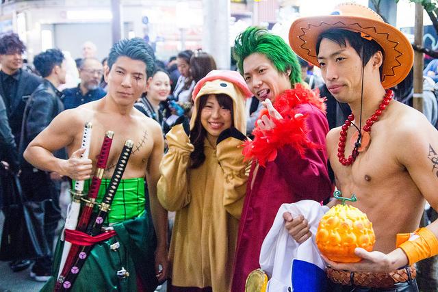 日本のハロウィン 渋谷ハロウィン